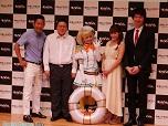矢口真里さんとPileさんが駆けつけた『少女とドラゴン』完成披露会