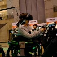 加賀アミューズメント、JAEPO2017でVRコンテンツ「OMNI ARENA」を展示 走って撃っての超体感型コンテンツ