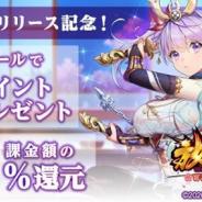 mediba、auゲーム版『放置少女』のリリース記念キャンペーンを実施 アイテム購入額の20%をPontaポイントでポイントバック