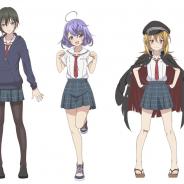 アカツキ、TVアニメ「八月のシンデレラナイン」公式サイトで「九十九伽奈」「阿佐田あおい」「岩城良美」のデザインを公開!
