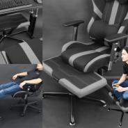 ビーズ、ゲーミングチェアの座面を拡張できる足置き台「ゲーミングオットマンワイド」を発売