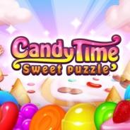 FUNPLE STREAM、スマホ向け3マッチゲーム『キャンディタイム:スイートパズル』のiOS版を配信開始