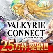 エイチーム、新作『ヴァルキリーコネクト』の事前登録キャンペーン参加者数が開始から20日間で累計25万件を突破!
