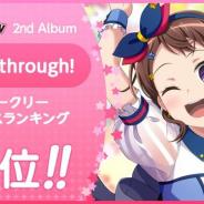 ブシロードとCraft Egg、『ガルパ』でPoppin'Partyの2nd Album「Breakthrough!」がウィークリーセールスランキングで3位を獲得!
