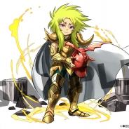 ガンホー、『パズル&ドラゴンズ』と『聖闘士星矢』とのコラボ企画第3弾に「黄金聖闘士・シオン」が登場!