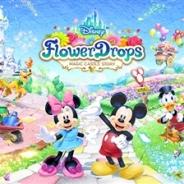 バンナム、『ディズニー フラワードロップス ~マジックキャッスルストーリー~』の配信決定、事前登録…ディズニーキャラクターと王国をつくるパズルゲーム