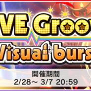 バンナム、『デレステ』でイベント「LIVE Groove Visual burst」を開始!