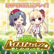 ポニーキャニオンとhotarubi、『Re:ステージ!プリズムステップ』でEXPERTが先行プレイできる「第80回ハイスコアチャレンジ」を開催