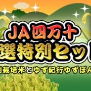 SEモバイル・アンド・オンライン、『ハッピーベジフル』で「JA四万十 厳選特別セット」プレゼントキャンペーンを実施