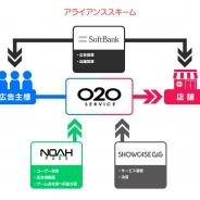 セガゲームス、ソフトバンク、Showcase Gigが協業…スマホゲームユーザーに特化したOnline to Offlineサービスの提供を開始