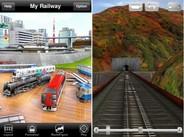 角川書店、iPhoneアプリ『My Railway JR東日本編』の配信開始-大ヒットアプリ『My Railway』の東日本編