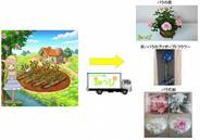 エルディ、「畑っぴ」でバラを育成・収穫すると関連商品が届くサービスを開始