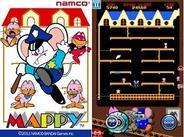 バンダイナムコゲームス、iPhoneアプリ版『マッピー』の配信開始