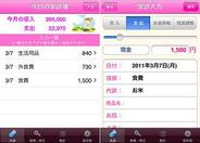 ネット家計簿『ココマネ』のiPhoneアプリが登場
