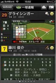 ジェネシックスとデータスタジアム、iPhoneアプリ「プロ野球Tools 2011」の提供開始