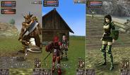ドワンゴ、iアプリ向けMMORPG「アークファンタズムオンライン」のオープンβサービス開始