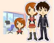 アジェンダ、「mixi」でタレント育成ゲーム『プリズムステージ~輝け!トップスター』の配信開始