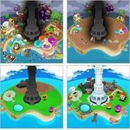 タイトーとグリー、「ポップ☆タワー for GREE」の配信開始-ポップキャップゲームズの人気パズルを収録