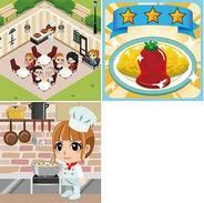 グレンジ、フィーチャフォン版「mixi」で「もぐもぐ☆レストラン」の提供開始-月内にスマフォ版も提供