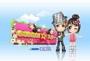 Outblaze、6月中旬に「Yahoo!Mobage」でアイドル育成ゲーム『GO!GO!☆スター』を配信