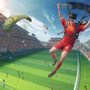 NetEase Games、『荒野行動』で新ゲームモード「サッカーモード」を公開 サッカーボール型の手榴弾を使ってゴールを狙おう