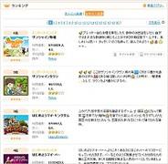 Rekoo Japan、PC版mixi「サンシャインタウン」がランキング2位に浮上
