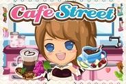 タイムズラーク、iPhone用ソーシャルゲーム「カフェストリート」の提供開始
