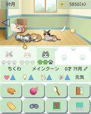 コトブキソリューション、スマホ版「GREE」で「ウチの猫 for GREE」の提供開始・・・かわいい猫を育てるアプリ
