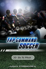 D2C、iPhone向けサッカーゲームアプリ「TAP COMMAND SOCCER」の提供開始