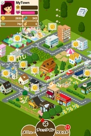 ゆめみ、位置情報連動ソーシャルゲームアプリ「MyTown」の提供開始…ファミマやローソンなど12社が参加