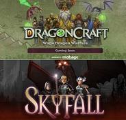 ngmoco、グローバル版「Mobage」向け「Skyfall」と「DragonCraft」のティザーサイト開設