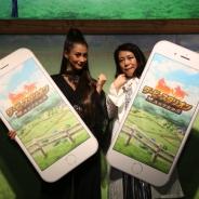 【TGS2016】ドリコム、『ダービースタリオン マスターズ』ダレノガレ明美さんと椿鬼奴さんが登場したお披露目会を実施