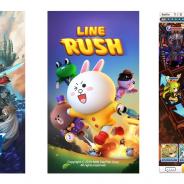 LINE、『LINE ラッシュ』『LINE グラングリッド』等2016年リリース予定のタイトルを発表