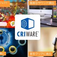 CRI・ミドルウェア、「CRIWARE」で知育・教育アプリ向けの初期費用が無償の料金体系を設定 導入しやすいプランでクオリティアップを支援
