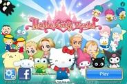 ニフティとサンリオウェーブ、iOS向けアプリ『Hello Kitty World』を48ヵ国に展開
