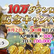 フジゲームス、『アルカ・ラスト 終わる世界と歌姫の果実』がリリース3日で10万DL突破! クリエイターコメントも公開