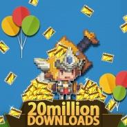 韓国NHNエンターテインメント、『クルセイダークエスト』の世界累計DL数が2000万件を突破! 記念イベントを実施中!