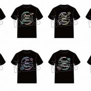 アコス、『DREAM!ing』より首席候補生たち16人8ペアをイメージしたユニゾンTシャツを発売