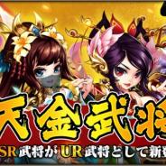 DMM GAMES、『三国ブレイズ』で新UR武将「天金武将」と武将強化コンテンツ「神将転職」の第2弾をリリース