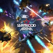【PS VR】360° 全方位STG『STARBLOOD ARENA』の体験版が公開