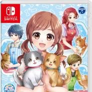 日本コロムビア、Switch『わんニャンペットショップ かわいいペットとふれあう毎日』を発売