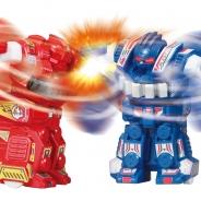 タカラトミー、高速旋回バトルロボット「ブラストファイター 2体対戦セット」を発売 世界中の男児がグッとくるスピンバトルロボット