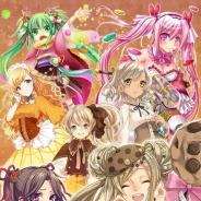 タスケ、姫君製造RPG『あまひめ!』をiOS/Android端末向けに配信開始! 大手お菓子メーカーとのコラボ企画も実施予定!?