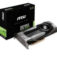 MSI、NVIDIA設計の「GTX 1080 Ti Founders Edition」発売 オーバークロックにも対応する電源設計