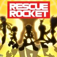 ザイザックス、レスキューアクションゲーム『RESCUE ROCKET』をリリース…高難易度で歯ごたえのあるステージ