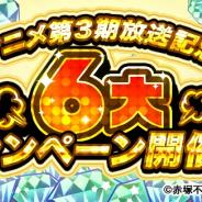 エイベックス・テクノロジーズ、『元祖!おそ松さんのへそくりウォーズ』でTVアニメ「おそ松さん」放送記念「6大キャンペーン」開催!