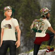 Nianticとポケモン、『ポケモンGO』で「The North Face × Gucci」コレクションの着せ替えアイテムが登場! 実物アイテムの販売も実施