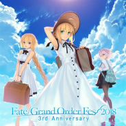 FGO PROJECT、『FGO』3周年を記念したリアルイベント「Fate/Grand Order Fes. 2018 ~3rd Anniversary~」の最新情報を公開!
