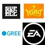【2013年の米国App Store売上ランキングまとめ】KingとSuperCellが激しい首位争い 3月以降躍進を遂げたグリー