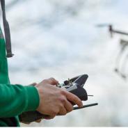 バンタンデザイン研究所 『ドローンパイロット&空撮コース』 ドローン操縦体験&入学説明会を開催